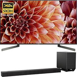 "Sony XBR75X900F 75"" 4K HDR10 HLG Dolby Vision Triluminos UHD"