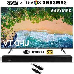 "Samsung UN50NU7100 50""  NU7100 Smart 4K UHD TV  with Vivitar"