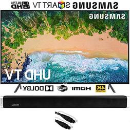 "Samsung UN65NU7100  65"" NU7100 Smart 4K UHD TV  with Vivitar"