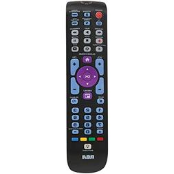 RCA RCRN05BHE 5 Device Backlit Universal Remote With Streami