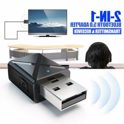 USB Bluetooth Receiver 3.5 Audio Transmitter Adapter For TV/