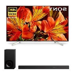 "Sony XBR-65X850F 65"" BRAVIA 4K Ultra HD HDR Smart TV and HT-"