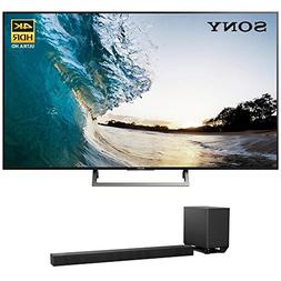 Sony XBR-75X850E 75-inch 4K HDR Ultra HD Smart LED TV  w HT-