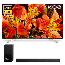 """Sony XBR-85X850F 85"""" BRAVIA 4K Ultra HD HDR Smart TV and HT-"""