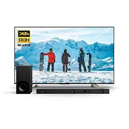 Sony XBR75X850F 75-Inch 4K Ultra HD Smart LED TV and Z9F 3.1